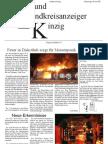 Zeitung 1. Ausgabe Seite 1