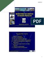 Monitoreo de Bentos en bahía Paracas 2013 [Compatibility Mode]