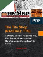 The Tile Shop - A Deadly Mosaic