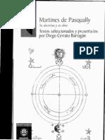 Martines de Pasqually Doctrina y Obra