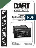 Dart Control DM8000Manual