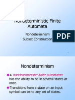 non deterministic finite automata