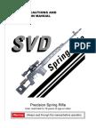 A&K SVD Dragunov Sniper Rifle Manual