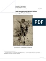 Insurgency as an instrument for strategic offence:A century of Pashtun history