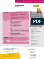 International Negotiation, IESEG, Brochure