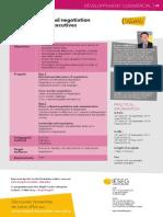 International Negotiation, IESEG, Brochure