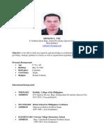 ernestjake resume