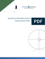 Software para Teoria de Restricciones (TOC)
