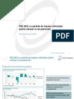 Presentación PGE 2014 Circulo de Empresarios