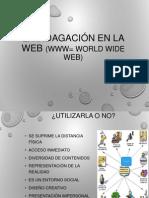 Indagación en la web
