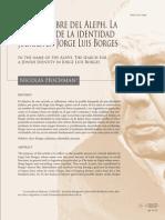 En el nombre del Aleph. La búsqueda de la identidad judaica en Jorge Luis Borges