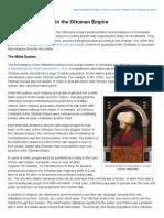 Non-Muslim Rights in the Ottoman Empire