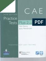 CAE Practice Tests Plus2 New Ed