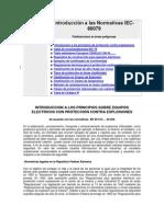 N. NORMA IEC 60079 Introducción
