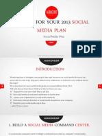 40 Ideas for Your Social Media Plan