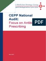 CEPP National Audit - Focus on Antibiotic Prescribing