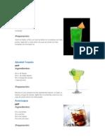 Tragos y Bebidas