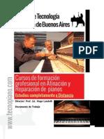 Como cambiar cuerdas del piano