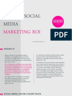 Nailing Social Media Marketing Roi