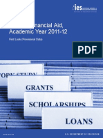 Student Financial Aid, Academic Year 2011–12 - First Look (Provisional Data)
