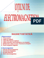 Fizica - curs Electromagnetism
