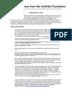 Osteoarthritis Fact Sheet From AF-Final 12-10-09