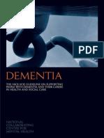 Dementia Guideline