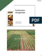 4 - Fertilizacion Nitrogenada (Silva)