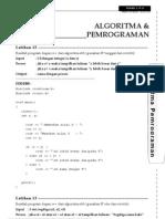Algoritma dan Pemrograman - Latihan 12-20 [www.alonearea.com].doc