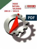 Convenio Metal 2012 2013 Ccoo