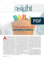The Business of Carrying Babies
