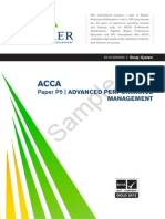 Performance Management Study System