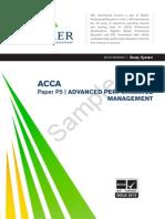Performance Management Study System