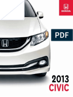 CIVIC Brochure 2013 en Sedan