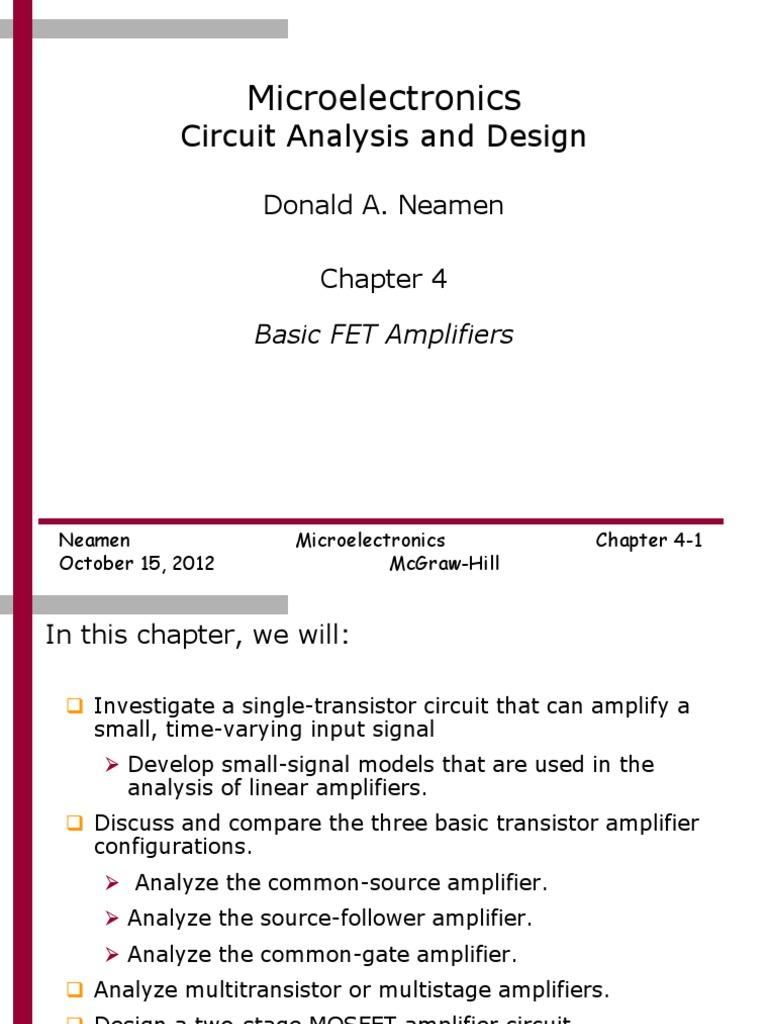 Mosfet Simple Transistor Preamplifier Circuits