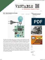 064 - Célula fotoeléctrica muy simple