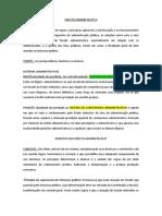 Direito Administrativo e Principios
