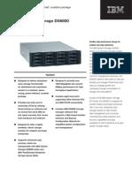 IBM System Storage DS6800 Datasheet