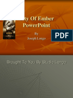 City of Ember Powerpoint