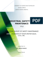 Industrial Safety and Maintenance