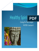 Healthy Spirituality 6 Water