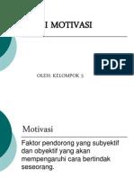 Faktor Motivasi Kerja