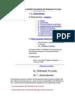 MANUAL PARA DISEÑO DE REDES DE DRENAJE PLUVIAL