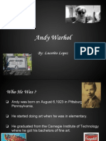 andy warhol 2013 multimedia