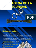 Cadena de Seguridad en La Prevencion de Accidentes