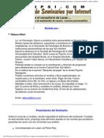 154596498 Seminario Psiconet en El Consultorio de Lacan PDF
