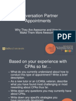 Conversation Partners in Service v 2