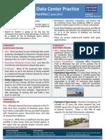 Avison Young Data Center Opportunities June 2013 Newsletter