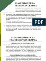FUNDAMENTOS DE TRANASFERENCA DE MASA.ppt