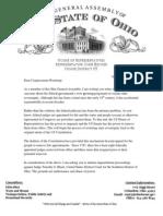 Judge Black Impeachment Letter
